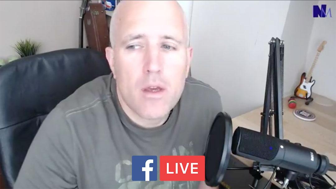 Neil Martin - Facebook Live