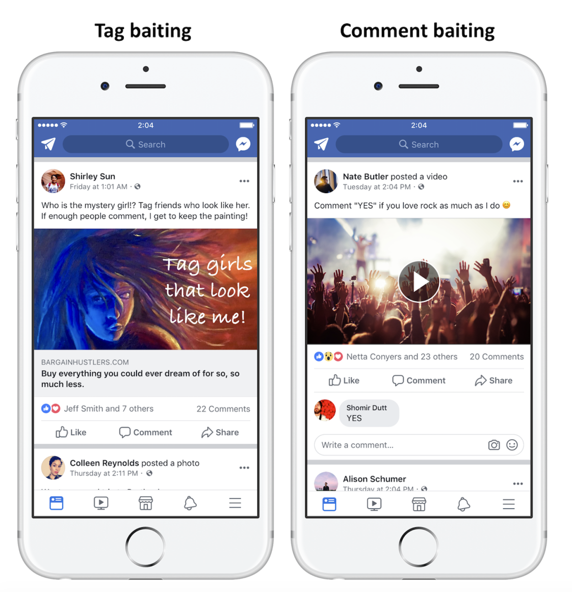 Image of Engagement Bait on Facebook